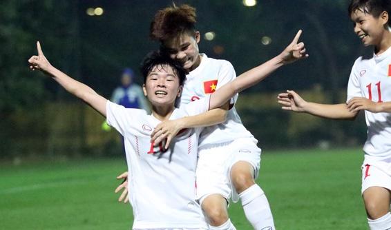 Thang Iran 2-0, U19 nu Viet Nam gianh ve du VCK chau A hinh anh