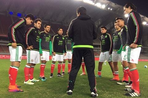 HLV U22 Mexico che U22 Viet Nam anh 1