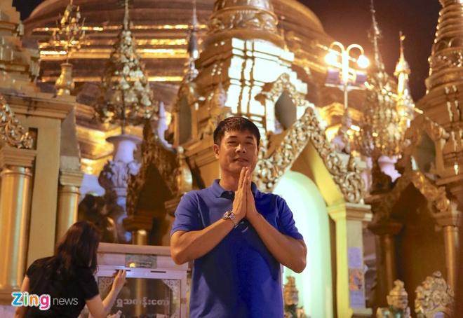 Tuyen Viet Nam tham chua Vang cua Myanmar cau binh an hinh anh 1