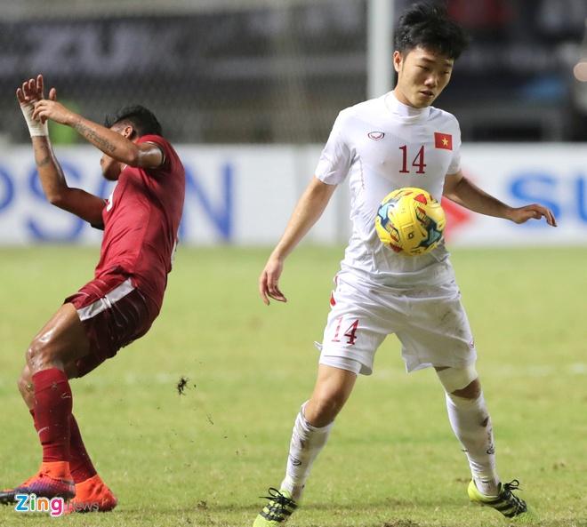 Xuan Truong du giai U21 quoc te anh 1