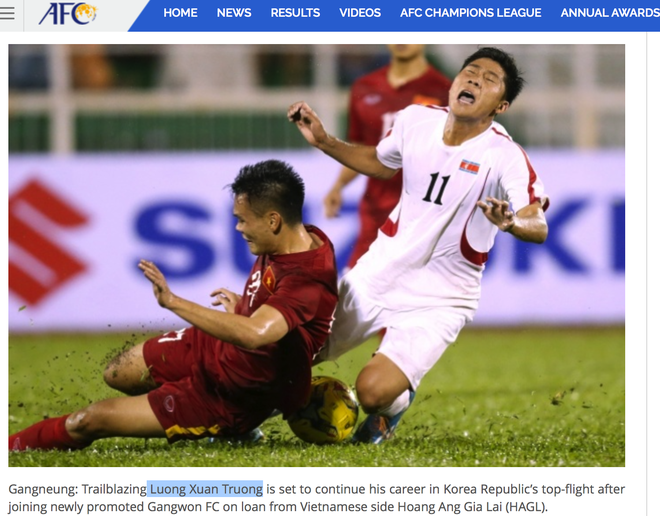 AFC nham Xuan Truong voi hau ve Quang Ninh anh 1