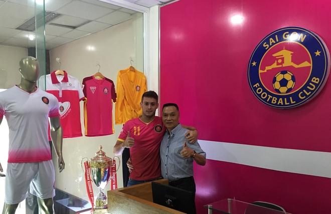 Sai Gon FC gioi thieu tan binh tung da U23 Brazil hinh anh 1