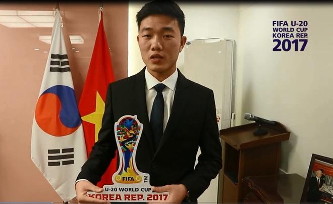 Xuan Truong tiep lua U20 Viet Nam truoc them World Cup hinh anh 1