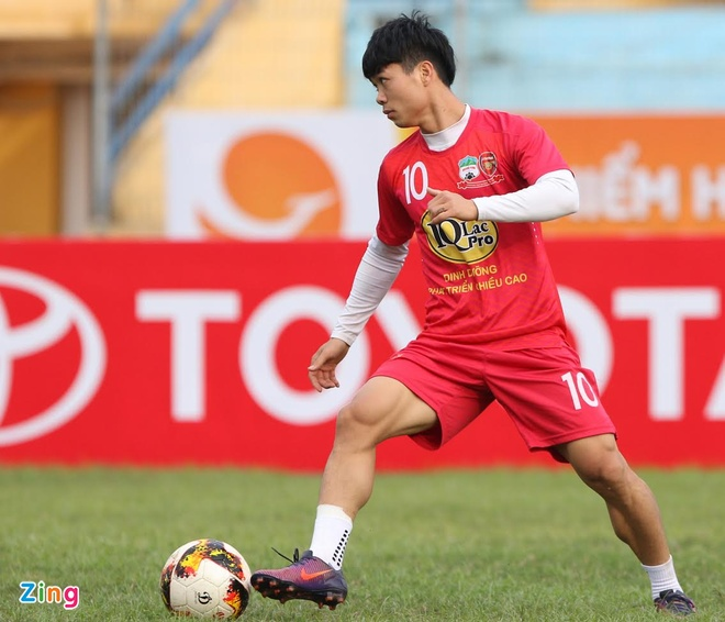 HAGL don Cong Phuong tro lai truoc tran gap Sai Gon FC hinh anh 1