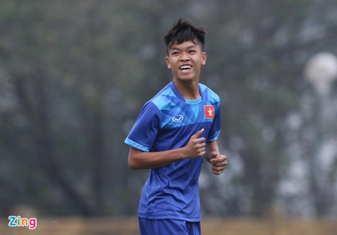 U18 Viet Nam tich cuc tap luyen truoc ngay sang Trung Quoc hinh anh 7