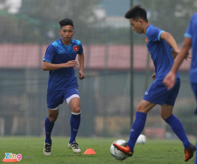 U18 Viet Nam tich cuc tap luyen truoc ngay sang Trung Quoc hinh anh 3