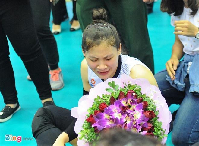 Hoa khoi bong chuyen ngai ngung nhan hoa tu CDV dac biet hinh anh 2