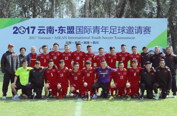U18 Viet Nam thang Thai Lan anh 1