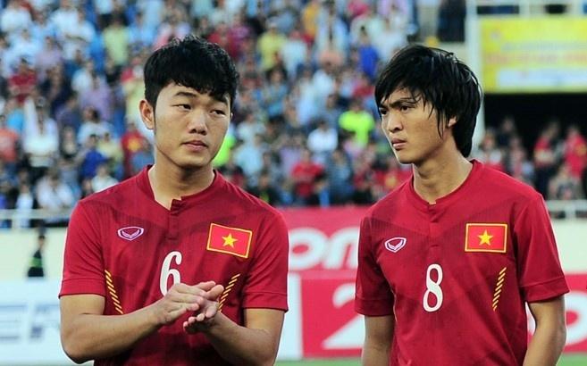 U23 Viet Nam cung bang voi Han Quoc o Vong loai chau A hinh anh