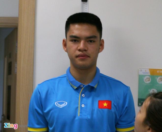 Cau thu Viet kieu thu viec U20 Viet Nam anh 1