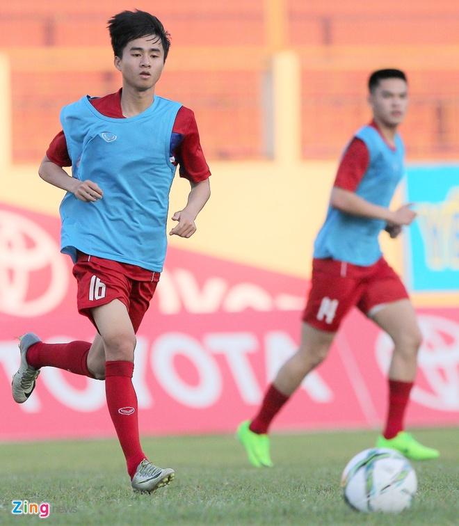 U20 Viet Nam: Tony Tuan Anh da cap voi Thanh Hau hinh anh 2