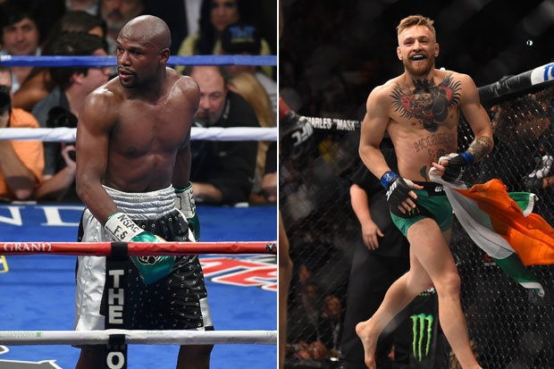 Tran so gang Conor McGregor vs Floyd Mayweather anh 1