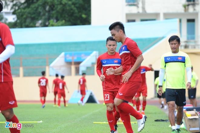 U20 Viet Nam gap kho ve nhan su anh 1