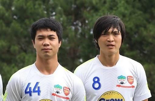 Cong Phuong, Tuan Anh dan dau U22 Viet Nam dau U20 Argentina hinh anh