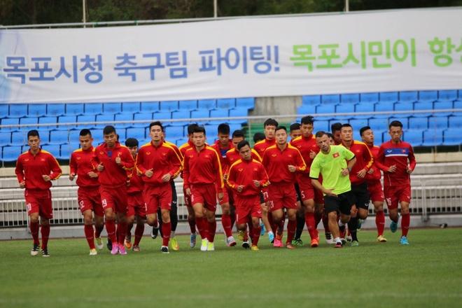 U20 Viet Nam hung khoi ra san tap o Han Quoc hinh anh 4