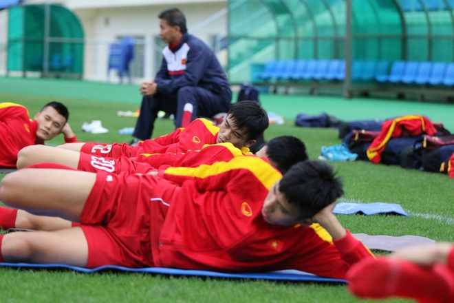 U20 Viet Nam hung khoi ra san tap o Han Quoc hinh anh 6