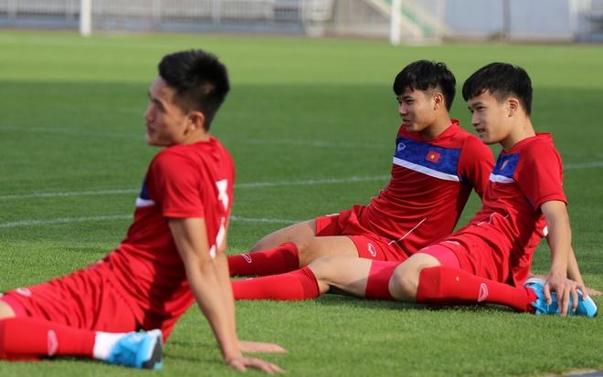 U20 Viet Nam tap tha long anh 8