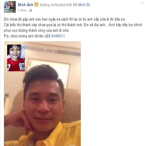 Ban gai tien ve U20 Viet Nam gui qua dac biet sang Han Quoc hinh anh 7