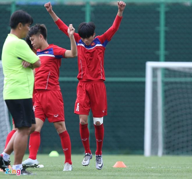 HLV Hoang Anh Tuan tin dung Thanh Hau o tran gap U20 Phap hinh anh 1