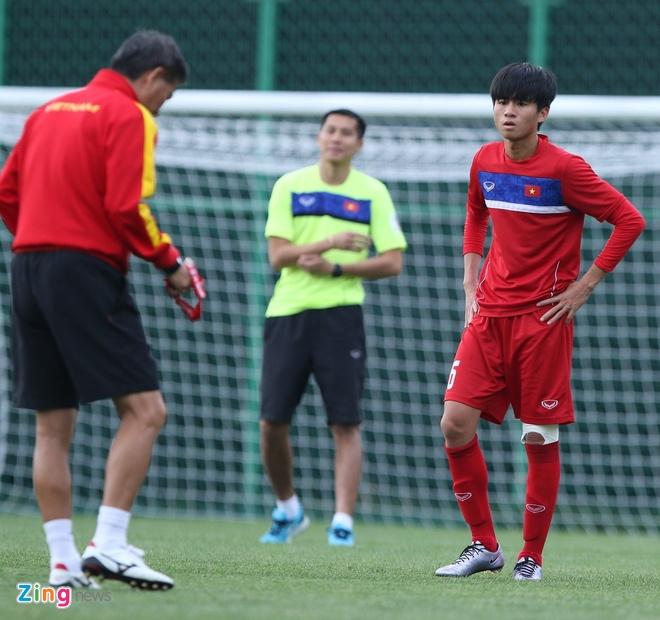 HLV Hoang Anh Tuan tin dung Thanh Hau o tran gap U20 Phap hinh anh 3