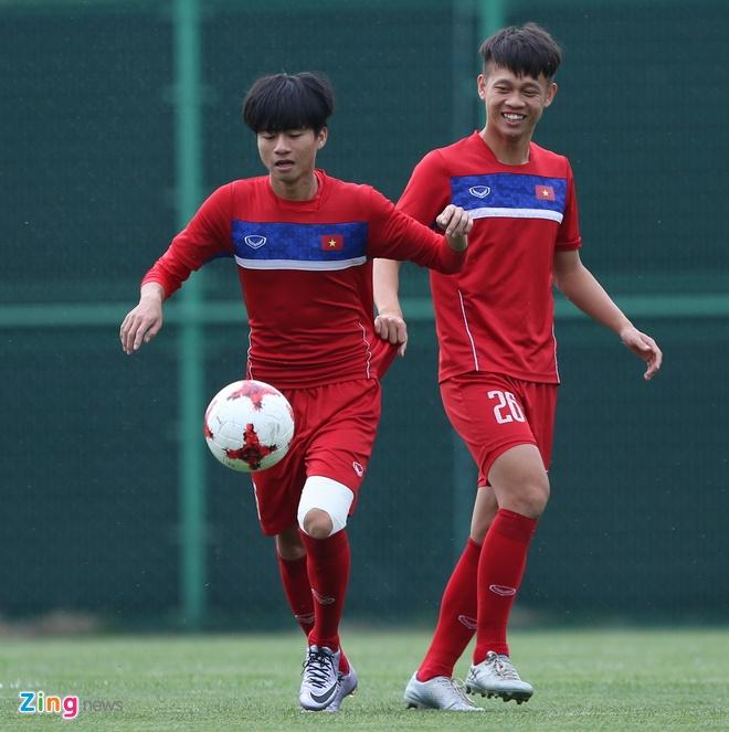 HLV Hoang Anh Tuan tin dung Thanh Hau o tran gap U20 Phap hinh anh 4