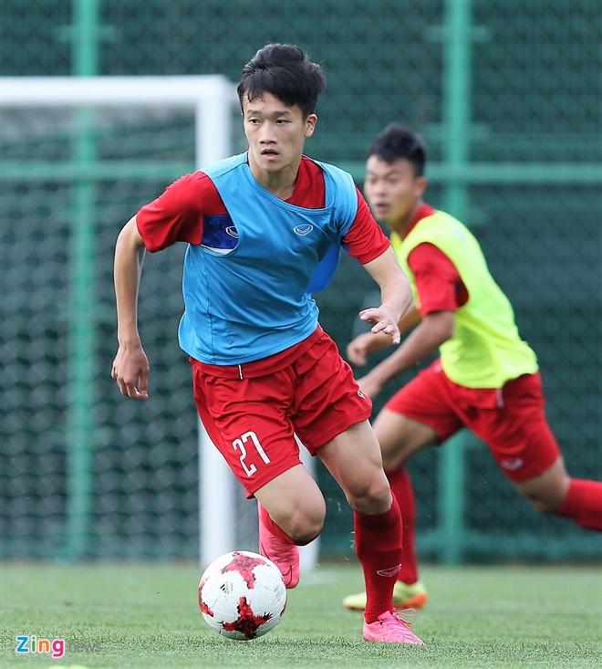 HLV Hoang Anh Tuan tin dung Thanh Hau o tran gap U20 Phap hinh anh 5