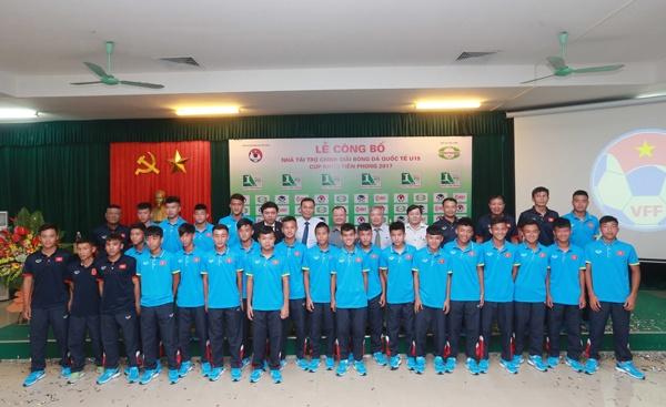 U15 Viet Nam so tai voi Indonesia, Dai Loan o giai U15 Quoc te hinh anh 1