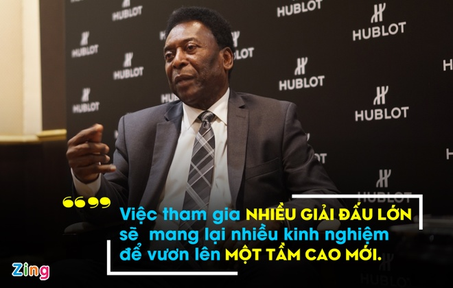 Pele 'mach nuoc' de Viet Nam co the du World Cup hinh anh 1