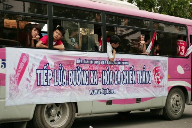 Thach thuc an phat, CDV Hai Phong vuot gan 2.000 km den Can Tho hinh anh