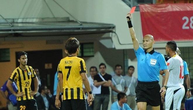 AFF kien nghi len AFC ve viec Malaysia tu chon bang dau o SEA Games hinh anh