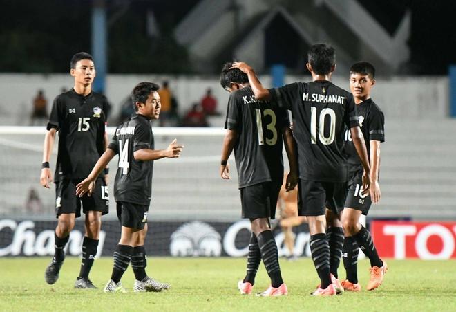 U15 Thai Lan guc nga nhin U15 Viet Nam len ngoi vo dich AFF hinh anh 7
