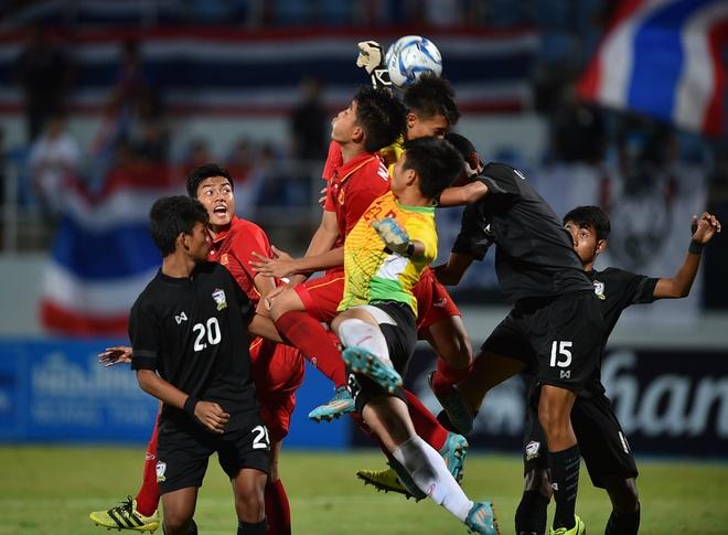 U15 Thai Lan guc nga nhin U15 Viet Nam len ngoi vo dich AFF hinh anh 10