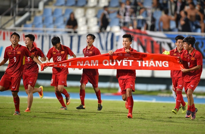 U15 Viet Nam vo dich Dong Nam A anh 1