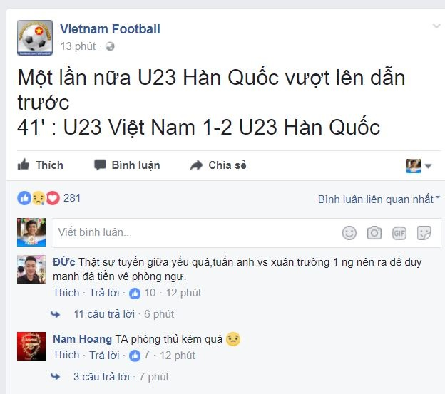 U22 VN vs U22 Han Quoc (1-2): Hang phong ngu mac sai lam hinh anh 23
