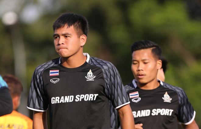 U22 Thai Lan tap kin buoi dau o Malaysia hinh anh