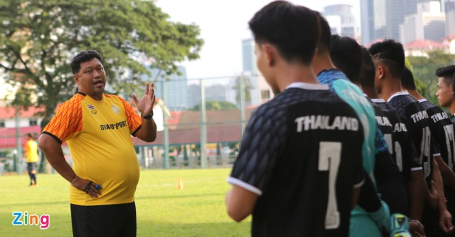 HLV U22 Thai Lan: 'Chien thang truoc Dong Timor la noi o nhuc' hinh anh 1