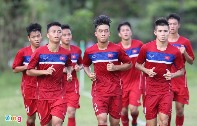 U18 Viet Nam tap sut penalty, chuan bi cho ban ket hinh anh 1