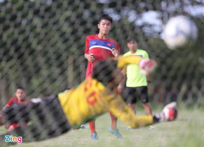 U18 Viet Nam tap sut penalty, chuan bi cho ban ket hinh anh 8