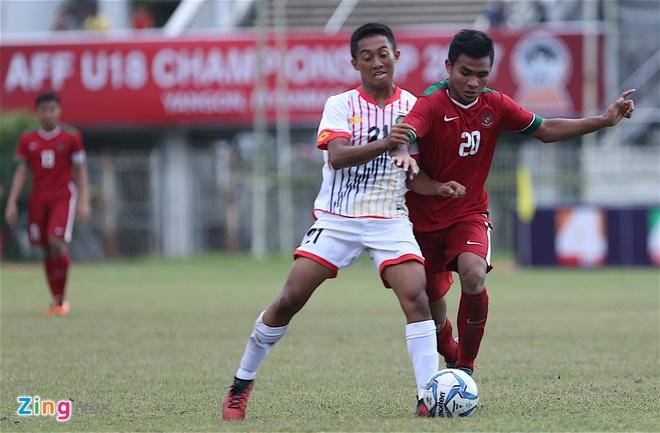 U18 Indonesia thang dam U18 Brunei, anh 4