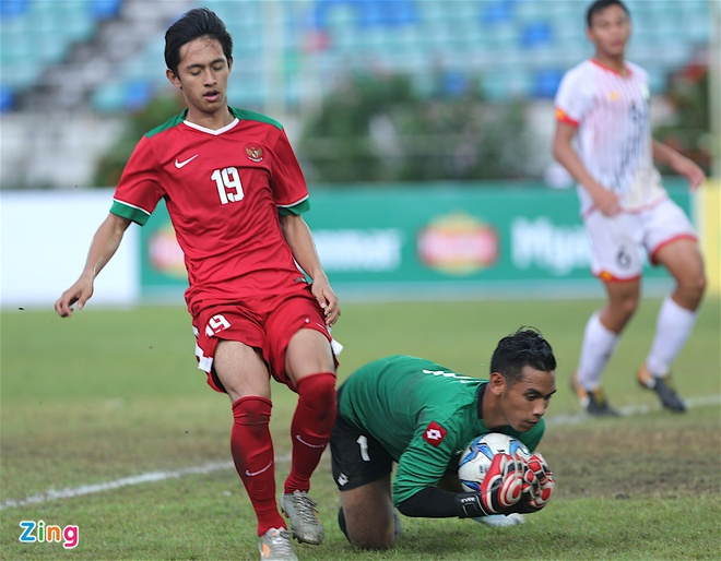 U18 Indonesia thang dam U18 Brunei, anh 5