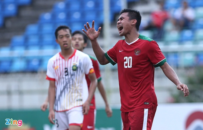 U18 Indonesia thang dam U18 Brunei, anh 6