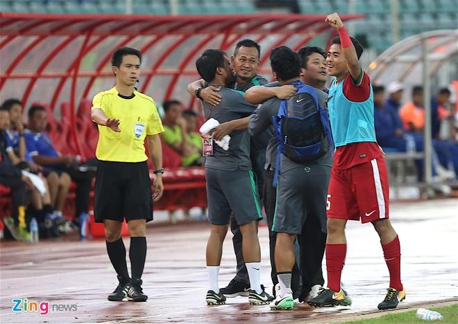 U18 Indonesia thang dam U18 Brunei, anh 7
