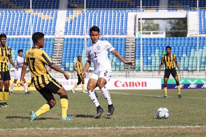 U18 Thai Lan vo dich giai U18 Dong Nam A 2017 du da thieu nguoi hinh anh 1