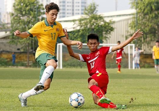 Thua U16 Australia, U16 Viet Nam van gianh ve du VCK chau A hinh anh