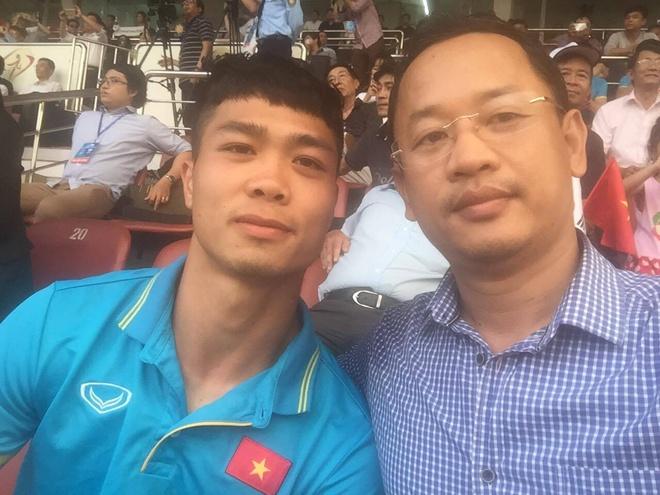 HLV Park Hang-seo chon ban than Cong Phuong lam tro ly ngon ngu hinh anh