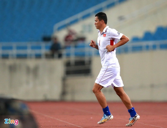 HLV Park Hang-seo cang thang o buoi tap truoc tran gap Afghanistan hinh anh 4