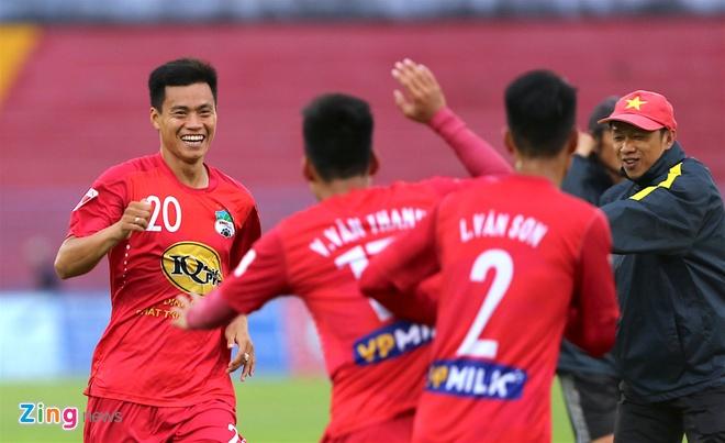 Tuan Anh tap sung suc truoc tran CLB Hai Phong vs HAGL hinh anh 6
