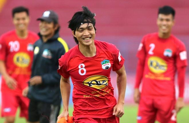 Tuan Anh tap sung suc truoc tran CLB Hai Phong vs HAGL hinh anh