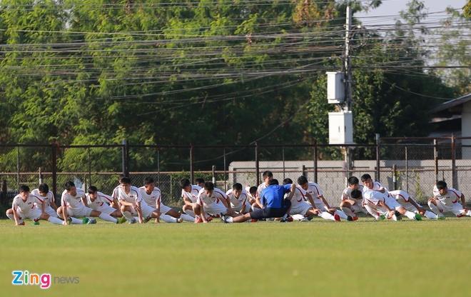 U23 Trieu Tien tap dut diem cho lach qua khe cua hep truoc Thai Lan hinh anh 1