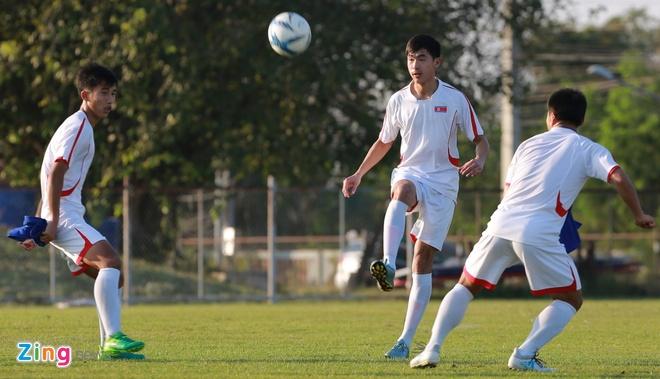 U23 Trieu Tien tap dut diem cho lach qua khe cua hep truoc Thai Lan hinh anh 4